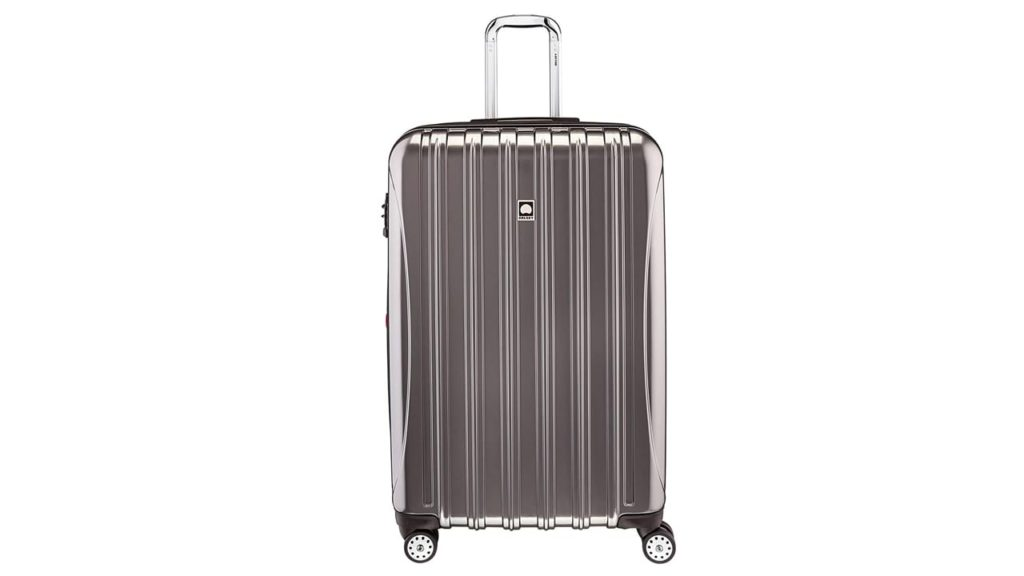 Delsey Luggage Luggage Helium aero 29 exp Spinner Trolley silver