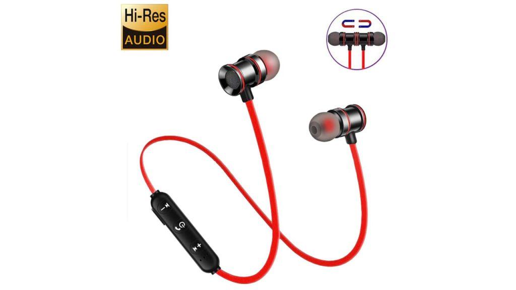 Bluetooth Headphones,Wireless 4.1 Magnetic Design