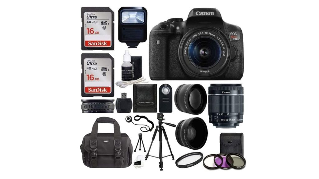 Canon EOS Rebel T6i SLR Camera