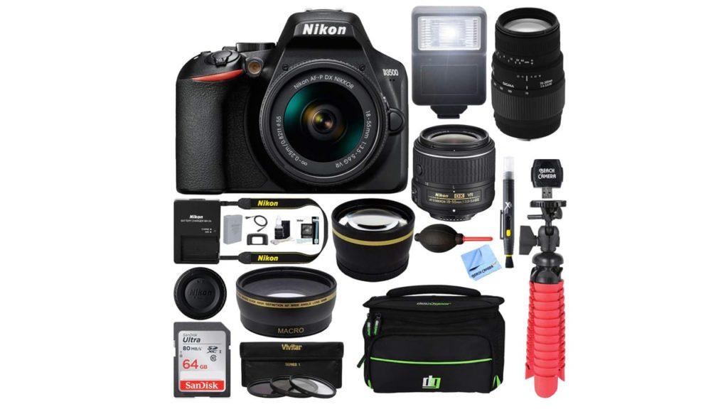 Nikon D3500 24.2MP DSLR Camera +
