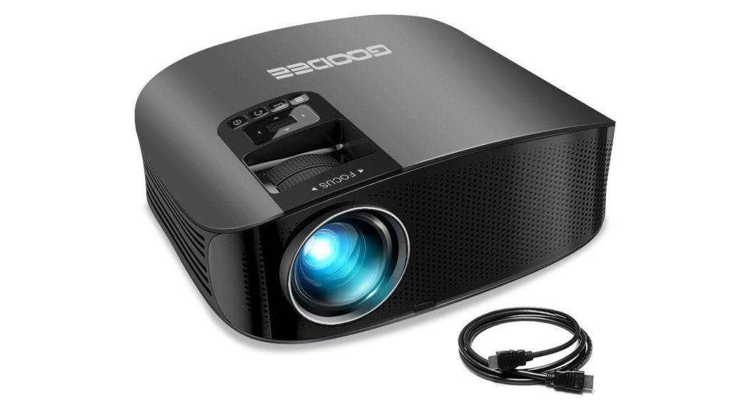 Projector GooDee Video Projector Outdoor Movie