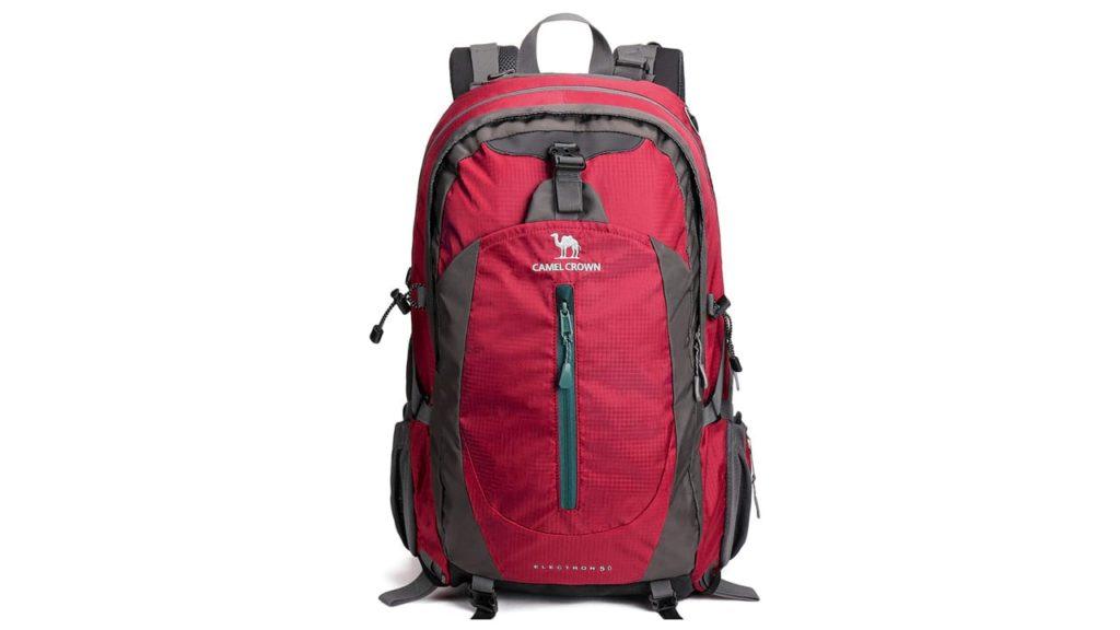 CAMEL CROWN 50L Waterproof Hiking Backpack Travel