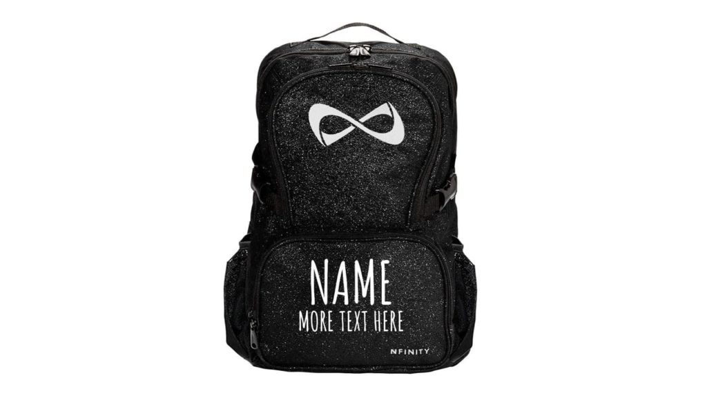 Custom Name Text Cheer Bag
