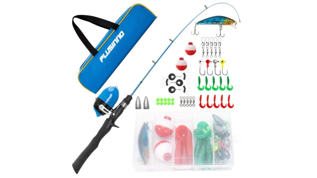 Kids Fishing Pole,Telescopic Fishing Rod and Reel Combos