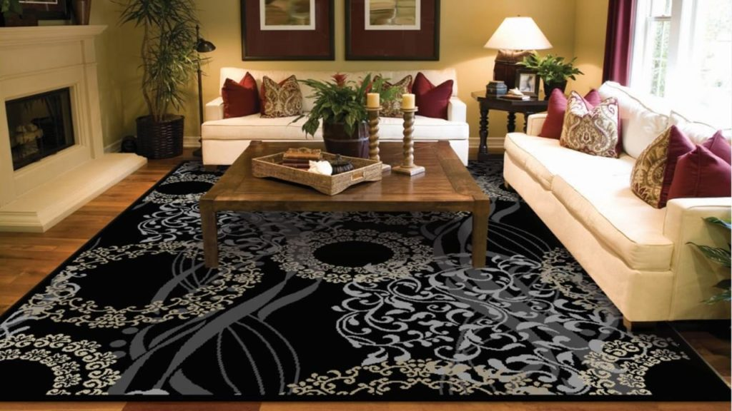 Luxutry Modern Rugs for Living Dining Room