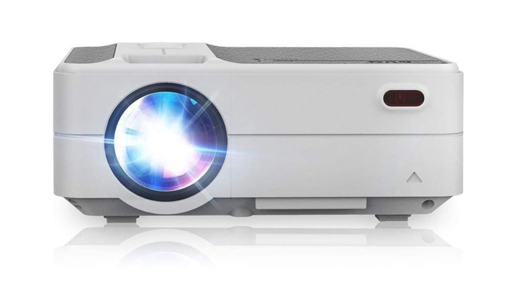 Portable Newest LCD Wi-Fi Bluetooth Home Projectors HD 1280x720p