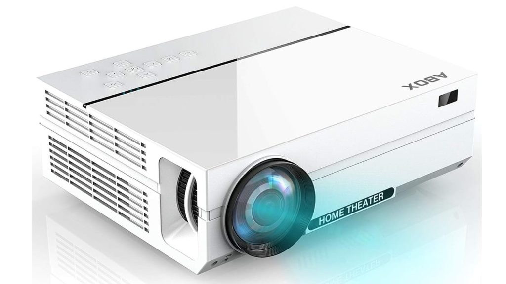 Projector, ABOX A6 Portable Home Theater 1080p Video Projector