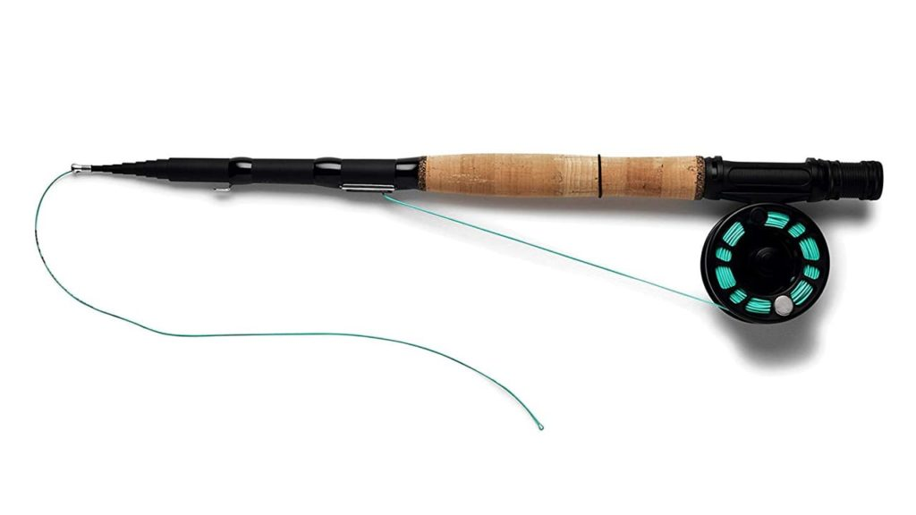 REYR Gear Telescoping Travel Fly Rod and Reel Combo