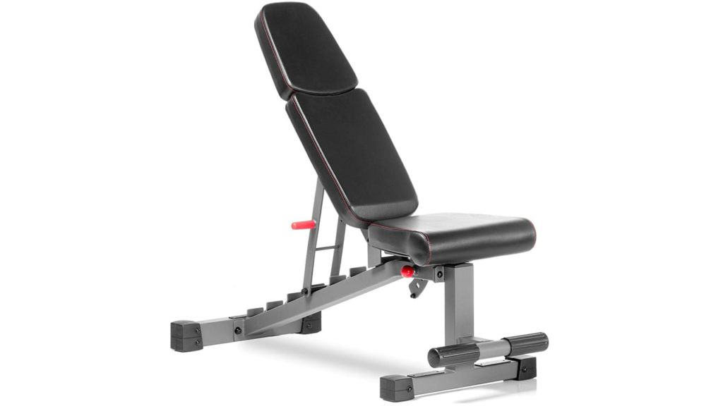 XMark Commercial Flat Incline Decline Weight Bench,