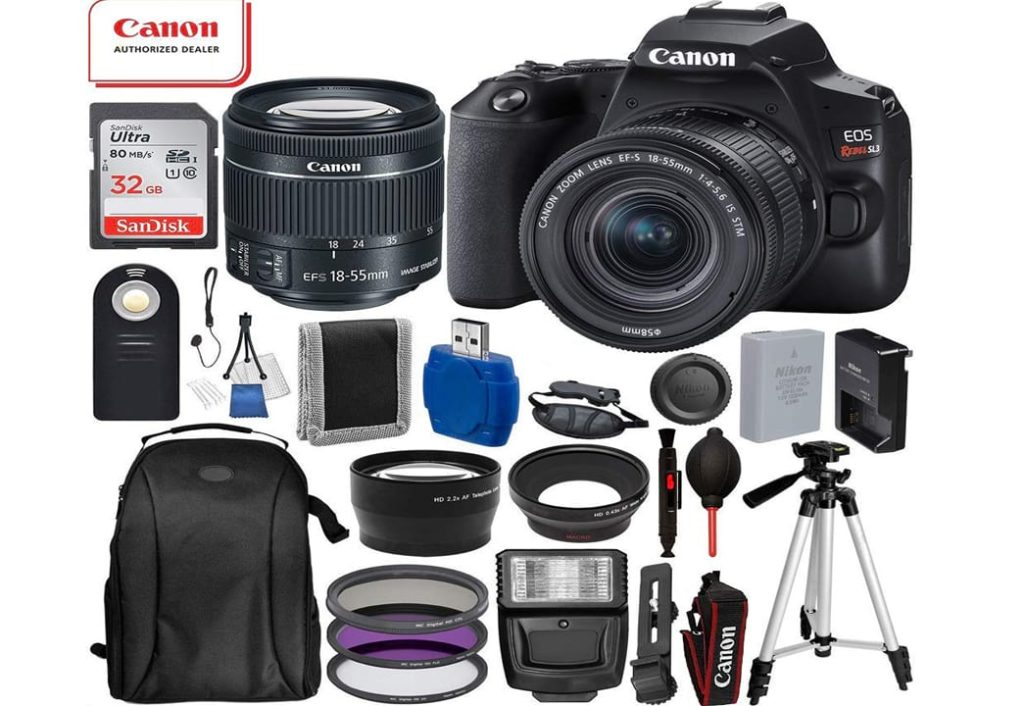 Canon EOS Rebel SL3 DSLR Camera