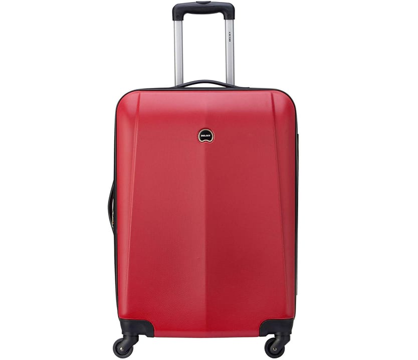 Delsey Luggage Infinitude 25 Checked Hard Case Spinner