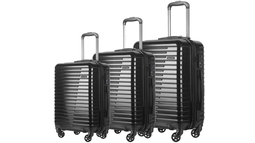 HyBrid & Company Luggage Set Durable Lightweight