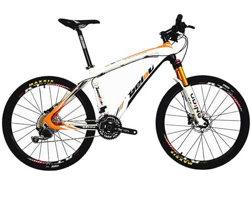 BEIOU Carbon Fiber Mountain Bike Hardtail MTB Shimano M6000
