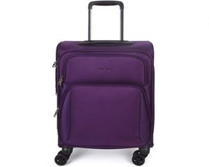 NEWCOM Luggage 20 Business Carry On Lightweight Softside Spinner