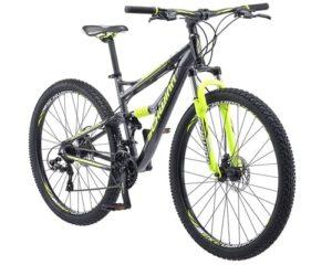 Schwinn Traxion Full Dual-Suspension Mountain Bike, Featuring 18-Inch