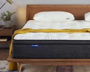 Sweetnight Queen Mattress in a Box - 12 Inch Plush Pillow Top Hybrid Mattress,