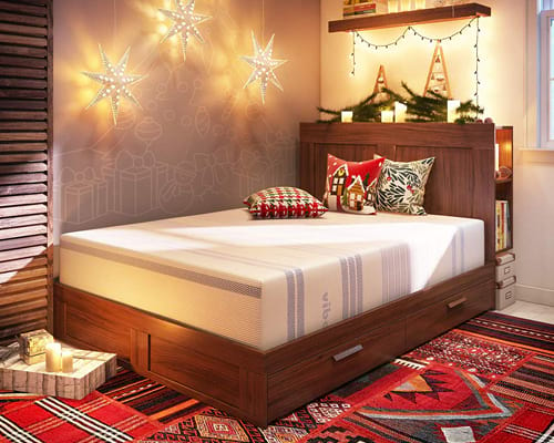 Vibe 12-Inch Gel Memory Foam Mattress Bed in a Box,Mattress Only Queen