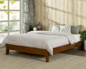 Zinus Wen 12 Inch Deluxe Wood Platform Bed No Box Spring Needed