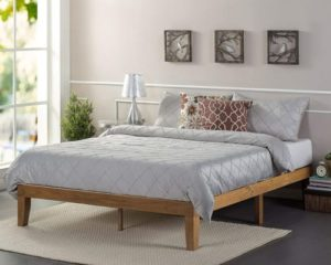 Zinus Alexia 12 Inch Wood Platform Bed No Box Spring Needed