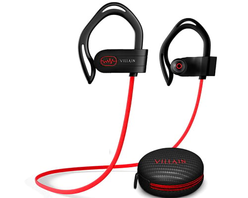 [2020 Edition] Villain Wireless Workout Bluetooth Headphones for Running and Gym