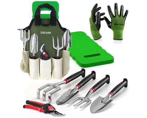 8-Piece Gardening Tool Set-Includes EZ-Cut Pruners