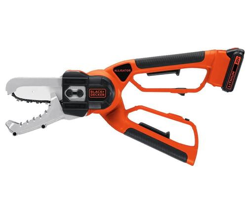 BLACK+DECKER 20V MAX Cordless Chainsaw, Alligator Lopper