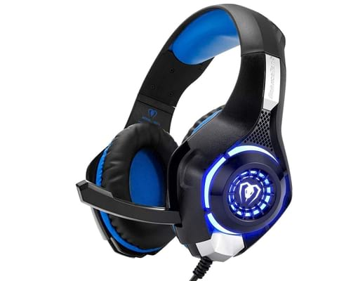 Beexcellent Gaming Headset for PS4 Xbox One PC Mac Controller Gaming Headphone