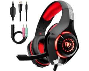 Beexcellent Gaming Headset with Noise Canceling mic