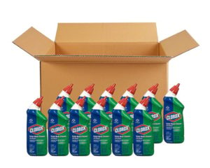 Clorox Toilet Bowl Cleaner with Bleach, Fresh Scent