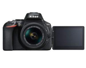 D5600 DX-Format Digital SLR w-AF-P DX NIKKOR 18-55mm