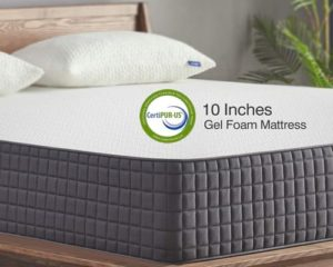 Full Mattress, Sweetnight 10 Inch Full Size Mattress