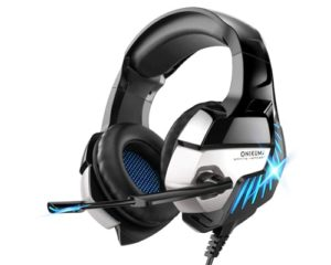 Gaming Headset for PS4, Xbox One, PC Headphones with Microphone