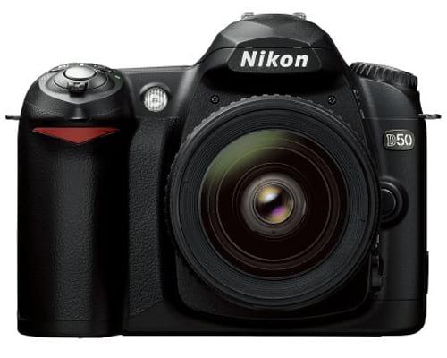 Nikon D50 DSLR Camera with 18-55mm