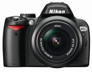 Nikon D60 DSLR Camera with 18-55mm