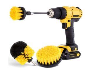 Drill Brush Attachment Set - Power Scrubber Brush