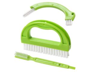 Living&Giving Grout Brush, (3 in 1) Grout Cleaner Brush