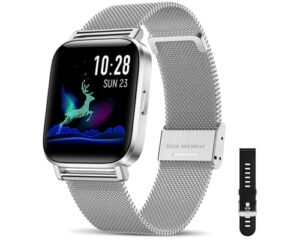 CanMixs Smart Watch for Android Phones iOS Bluetooth Smart Watches for Men Women