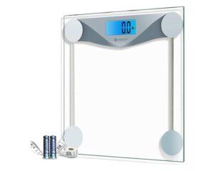 Etekcity Digital Body Weight Bathroom Scale with Body Tape Measure
