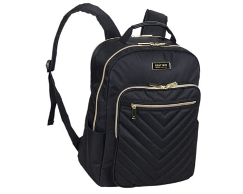 Kenneth Cole Reaction Chelsea Womens Chevron Quilted 15-Inch Laptop & Tablet Fashion Travel Backpack