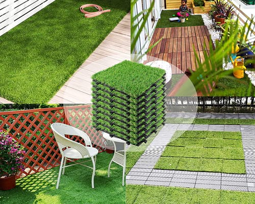 Outdoor Turf Grass for Dogs Pet Synthetic Grass Rug