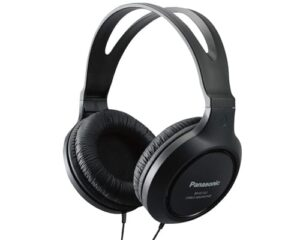 Panasonic Full-Sized, Lightweight Long-Cord Headphones