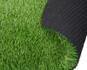 RoundLove Artificial Grass Turf, 3 Tone Synthetic Grass Patch