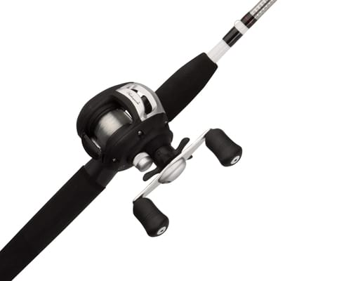 Shakespeare Alpha Medium 6' Low Profile Fishing Rod and Bait Cast Reel
