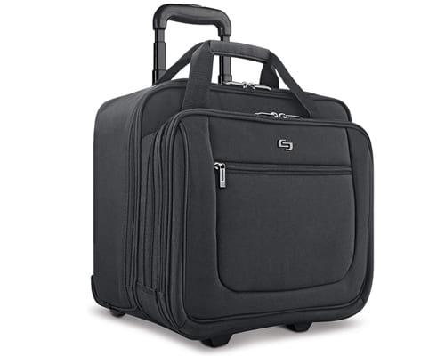 Solo New York Bryant Rolling Laptop Bag, Black