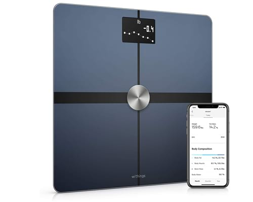 Withings BodySmart Body Composition Wi-Fi Digital Scale with smartphone app