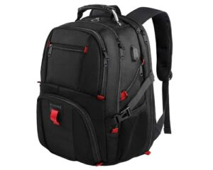 YOREPEK 18.4 Laptop Backpack,Large Backpacks Fit Most 18 Inch Laptop with USB Charger Port