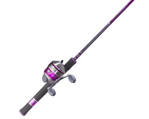 Zebco 33 Spincast Reel and 2-Piece Fishing Rod