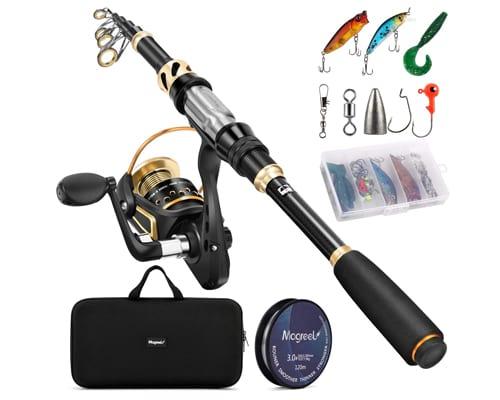 Magreel Telescopic Fishing Rod and Reel Combo