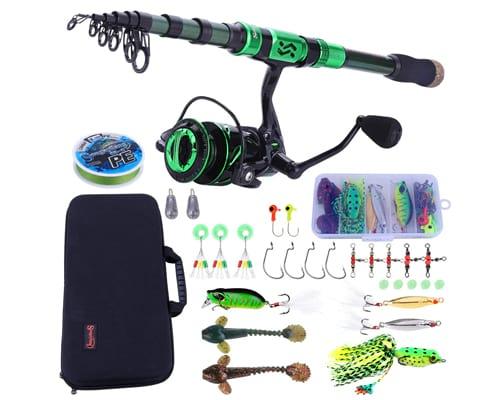 Sougayilang Fishing Rod and Reel Combos